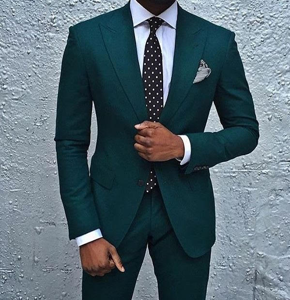 Wedding Suit Colors Green And Teal A Hand Tailored Suit Ie