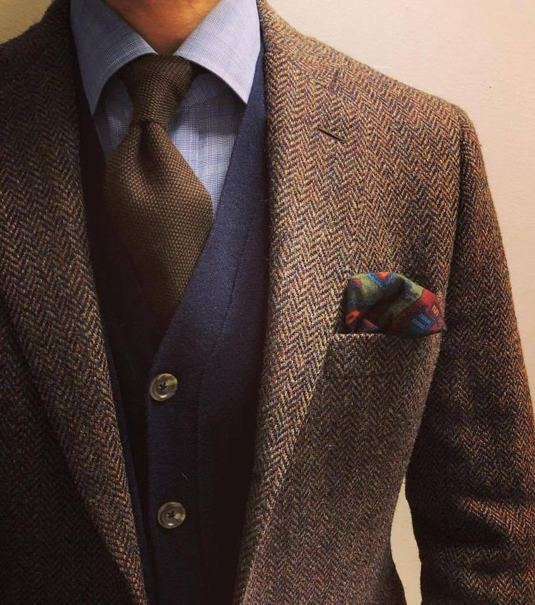 Blazers Dublin: Tweed Suiting Colours 2018